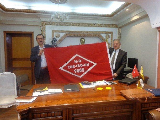 PTT Erzincan Başmüdürlüğü'ne Kalite Belgesi