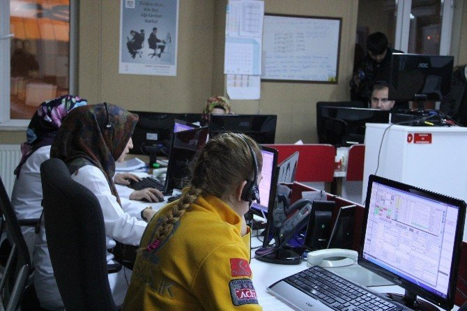Yılbaşı Gecesinde 112 Çağrı Merkezine 'Partimize Gelin' İhbarı