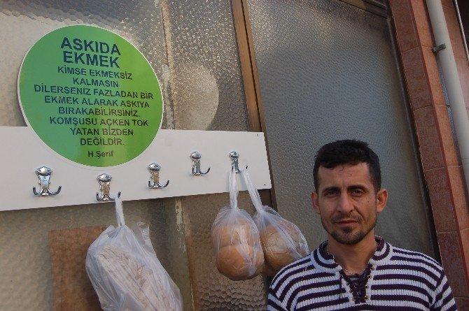Sosyal Paylaşım Sitesindeki Hikayeden Etkilendi, Bedava Ekmek Dağıtıyor