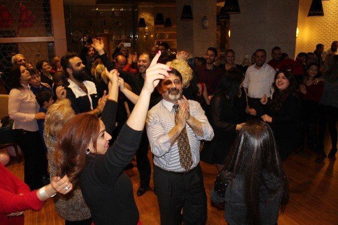 Malatya'da 2016'ya Eğlenerek Girdiler