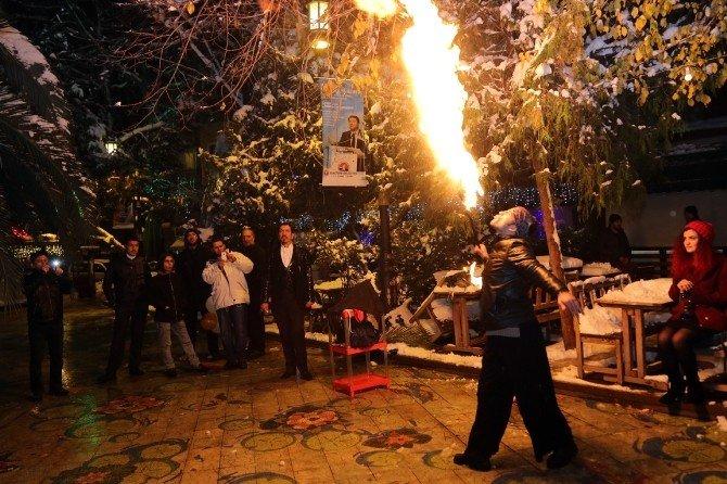 Maltepe'de Yeni Yıl Coşkusu