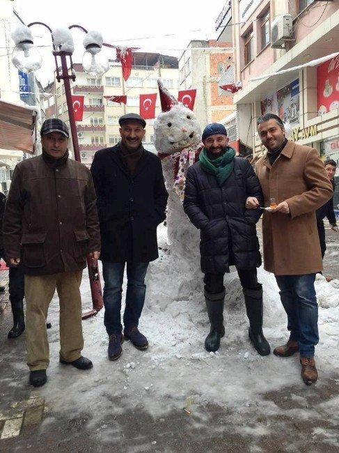 Fatsa'da Kardan Adamlar Her Yerde