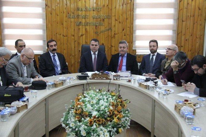 Başkan Aksoy 2015 Yılını Değerlendirdi