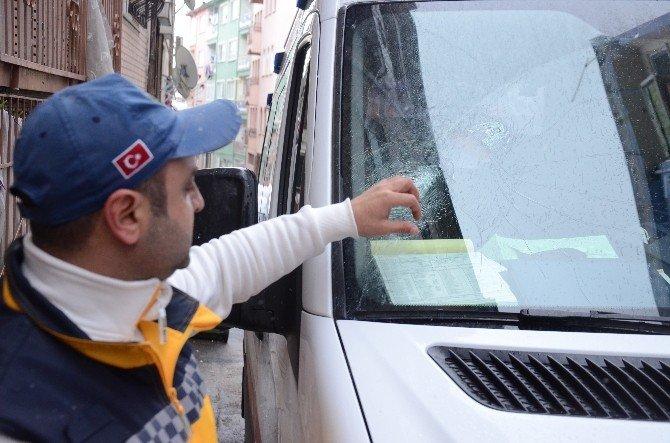Bursa'da 112 Ekibine Saldırı