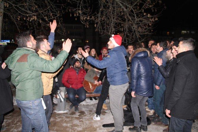 Sivas'ta yeni yıl kutlamaları