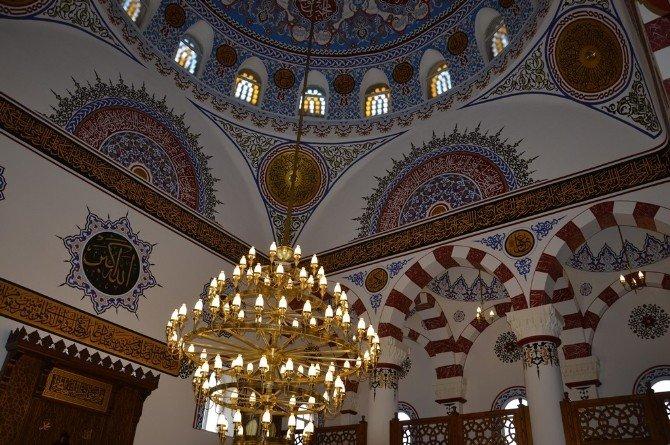 Tadilatı Tamamlanan Keşfi Camisi İbadete Açıldı