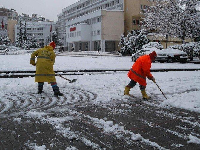 Trabzon Beyaza Büründü