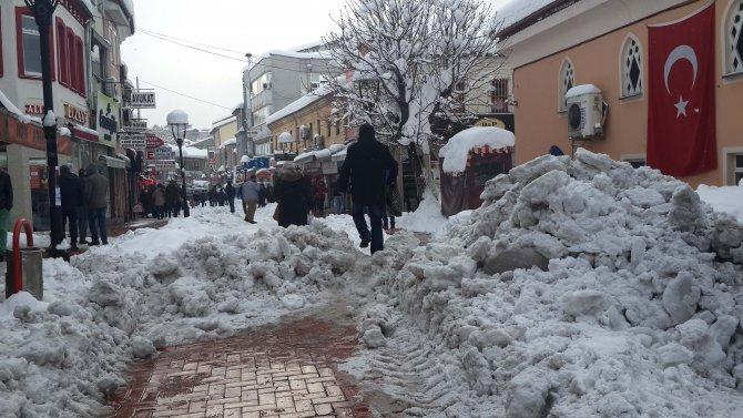 Bartın'da 45 köy kardan ulaşıma kapandı