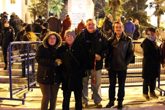 Bursa'da sönük yılbaşı kutlaması