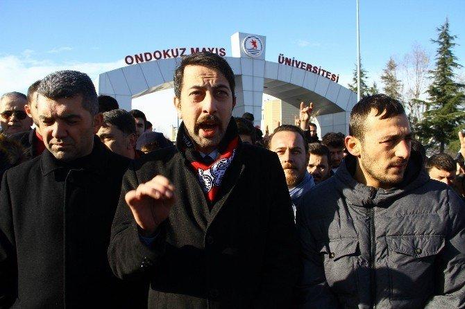 Samsun'da Yeni Yılın İlk Eylemi