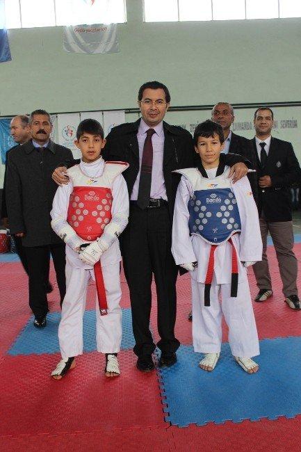 Anadolu Ligi Taekwondo İl Seçmeleri Turnuvası Sona Erdi