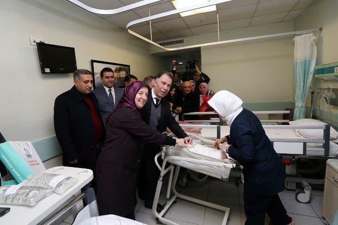 Bursa Valiliği Yeni Yıla Vatandaşlarla Beraber Girdi