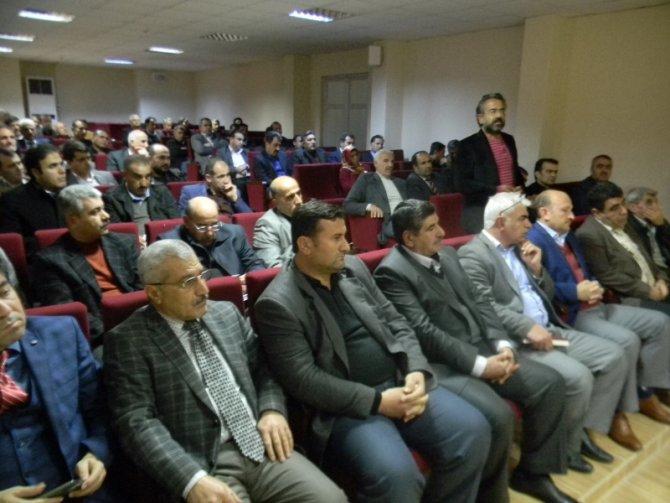 Kahta'da okul aile birliği başkanları istişare toplantısı yapıldı