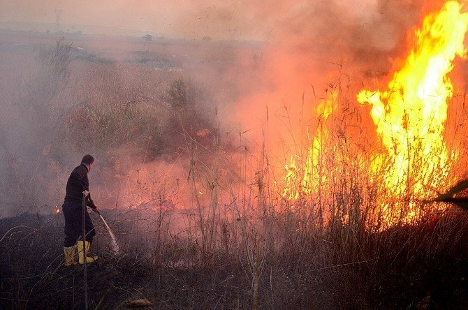 Düzce İtfaiyesi Geçen Yıl 297 Yangına Müdahale Etti
