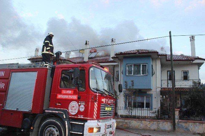 Aydın'da Villa Yangını