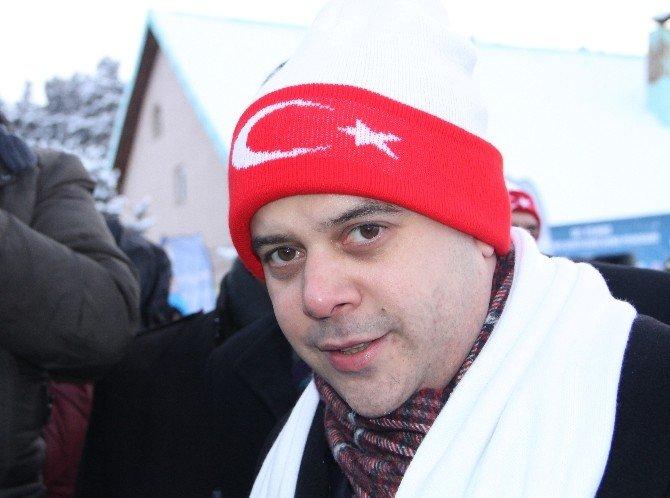 Bakan Kılıç, Kardan Heykellerin Açılışını Yaptı