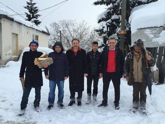 Başkan Sağıroğlu'nun Kar Mesaisi