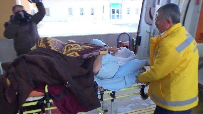 Hamile Kadına 6 Saatlik Yol Açma Çalışması Sonrası Ulaşıldı