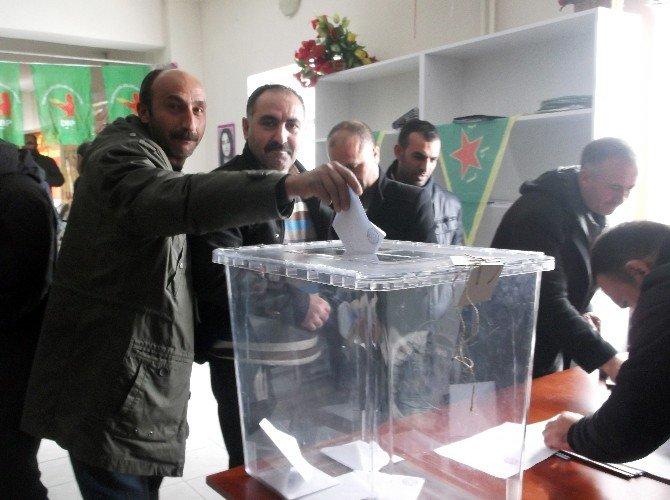 Varto'da DBP Kongresi Gerçekleştirildi