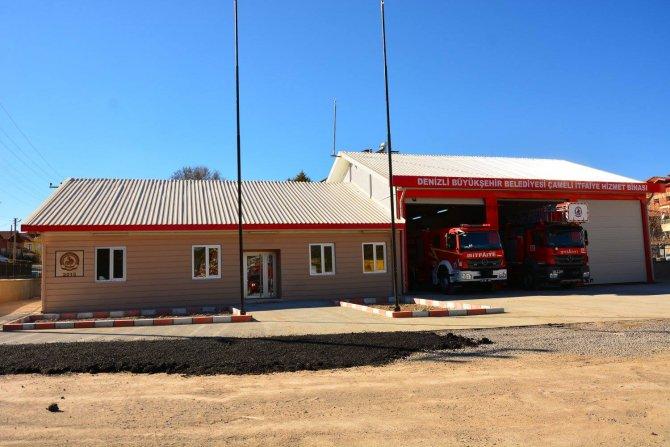 Çameli Belediyesi'nin itfaiye binası tamamlandı
