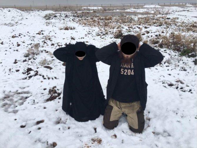 Türkiye'ye geçmeye çalışan 3 IŞİD teröristi yakalandı