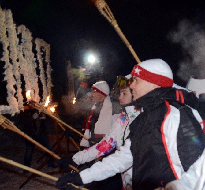 Bakan Kılıç, Cıbıltepe Tesislerinde Kayak Yaptı