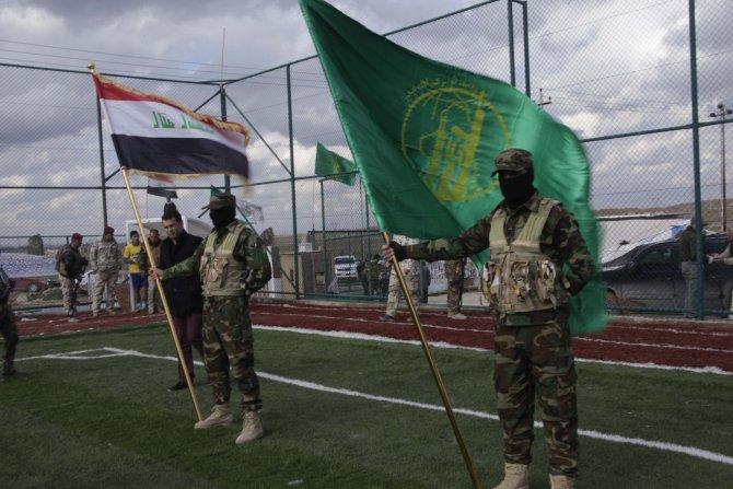 Askeri eğitim alan 120 gönüllü Türkmen, IŞİD ile mücadeleye hazır