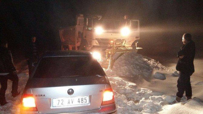 Ava Giden 3 Avcı Kar Da Mahsur Kaldı