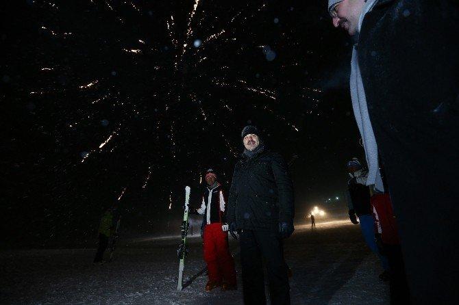 Başkan Çelik Erciyes'in Sezon Açılış Programına Katıldı