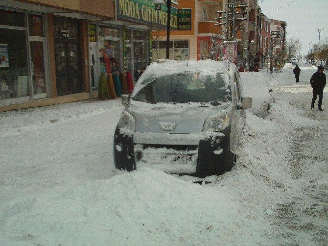 Özap'ta Kar, Hayatı Durma Noktasına Getirdi
