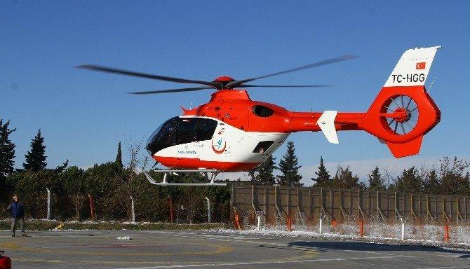 Kar Engeline Hava Ambulanslı Çözüm