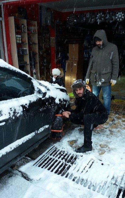 Karabük'te 216 Köy Yolu Ulaşıma Kapandı