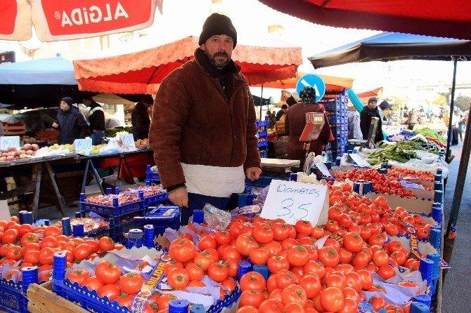 Kar Ve Don Çarşı-pazarı Vurdu