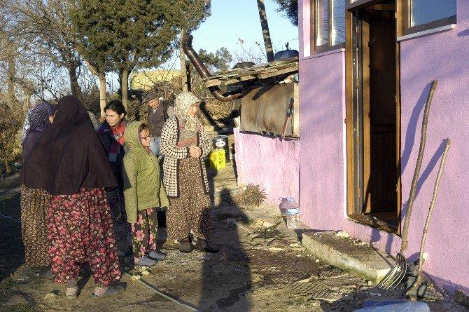 Evi Yanan Kadından Yürek Burkan Sözler