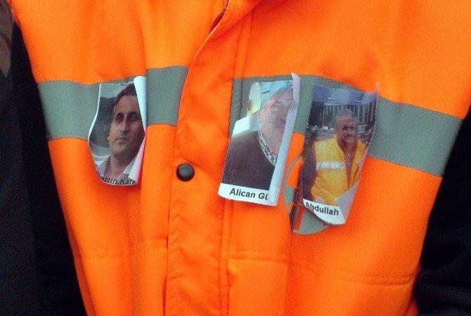 Alkollü Sürücünün Öldürdüğü İşçiler Son Yolculuğuna Uğurlandı