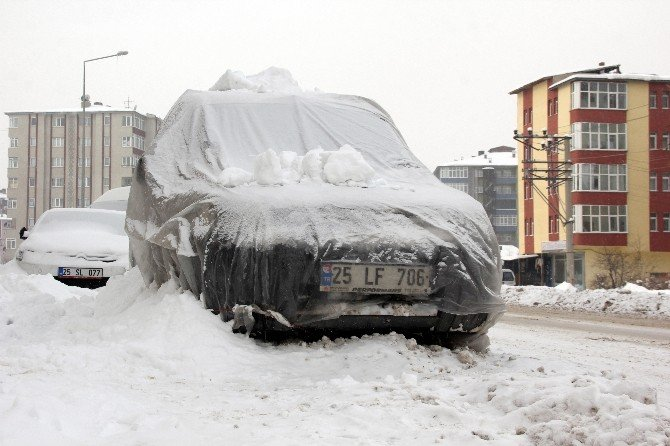 Doğu'da Soğuk Hava Dondurdu