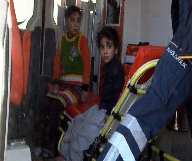 Suriyeli Ailenin Yaşadığı Evde Soba Yangını