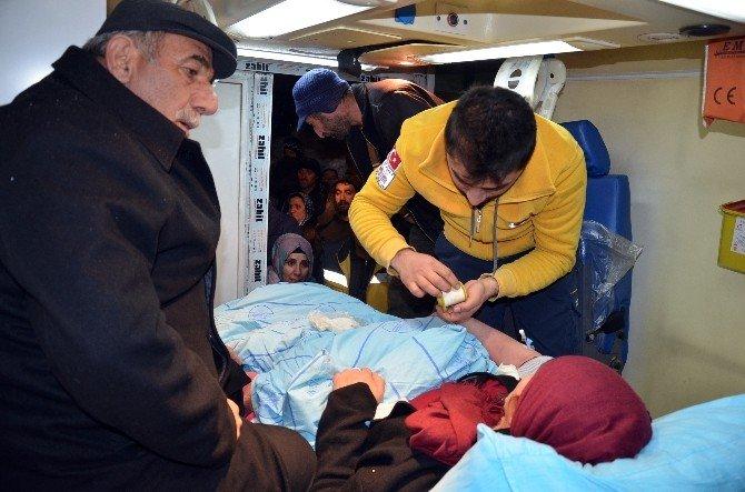 Yüksekova'da 6 Saatlik Hasta Kurtarma Operasyonu