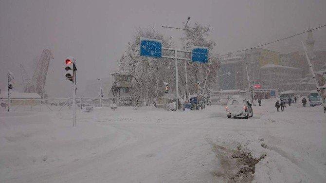 Zonguldak'ta Hayat Durdu
