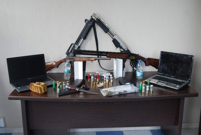 Polis ve jandarmadan ortak uyuşturucu operasyonu