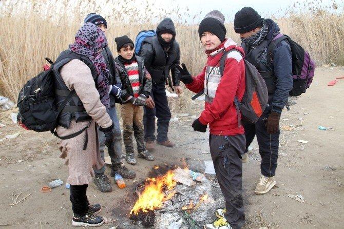 İnsan Tacirleri Dondurucu Soğuğa Rağmen İşbaşında