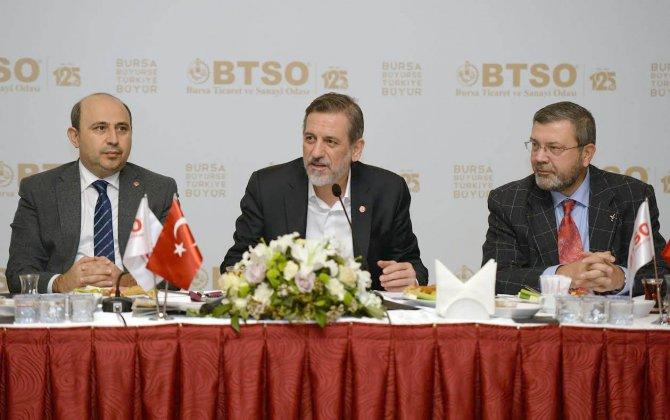 """""""Yerli üretimine yönelik milli duruşu Bursa'nın menfaati için kullanabiliriz"""""""