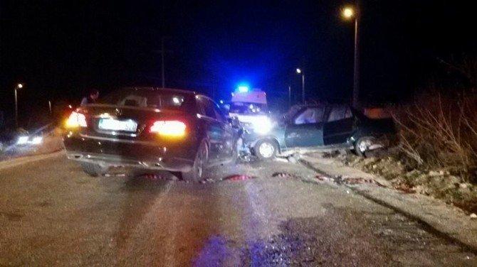 Çal'da Kaza: 4 Yaralı