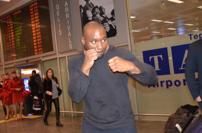 Ünlü İngiliz boksör Danny Williams İstanbul'da