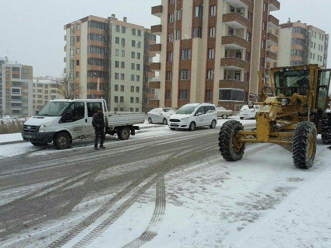 Edirne Belediyesi Kar Alarmında