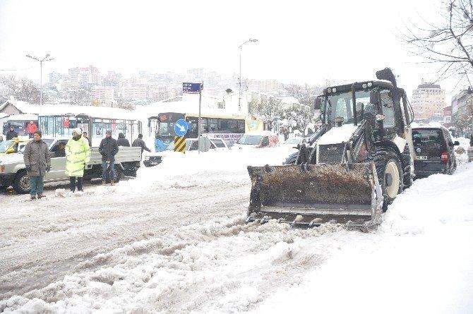 Zonguldak Kar Sınavını Geçemedi