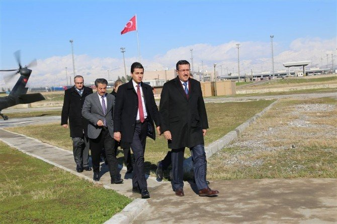 Bakan Tüfenkci, Habur Sınır Kapısı'nda Müjdeyi Verdi