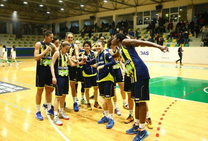 İstanbul Üniversitesi: 48 - Fenerbahçe: 94