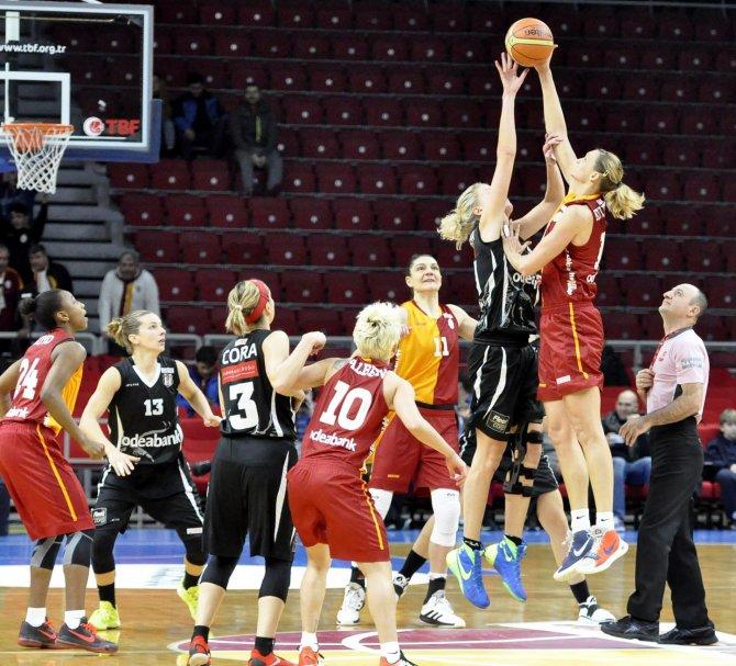 Kadınlar Basketbol Ligi'nde Galatasaray, Beşiktaş'ı farklı yendi