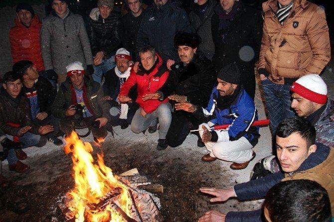 Türk Dünyası Sarıkamış Şehitleri İçin Gece Nöbetinde